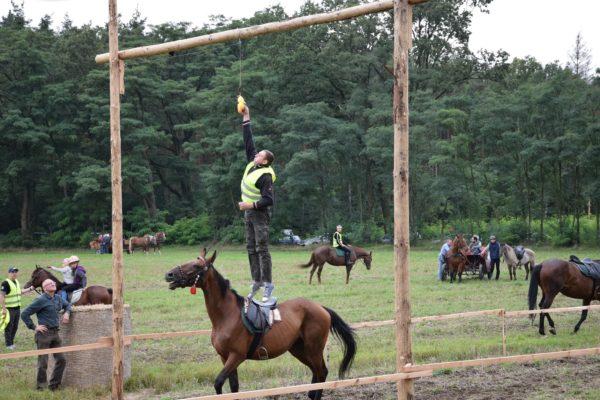 Miłośnicy jeździectwa w Smoszewie