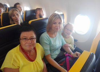 Samolotem do Warszawy