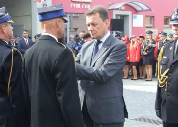 Minister Błaszczak z wizytą w Kobylinie