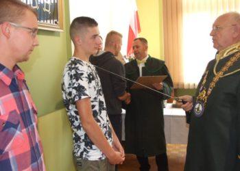 Uroczystość wręczenia dyplomów w Cechu