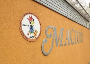 Pasowanie w Maciusiu