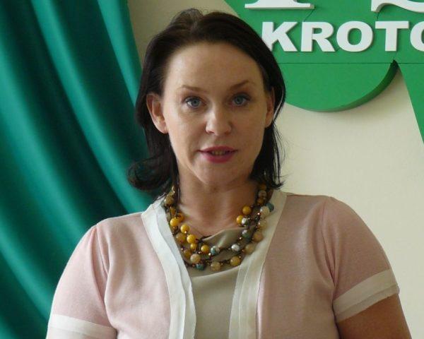 A. Możdżanowska na stanowisku wiceministra
