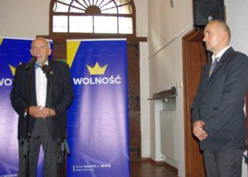 Janusz Korwin-Mikke w Krotoszynie