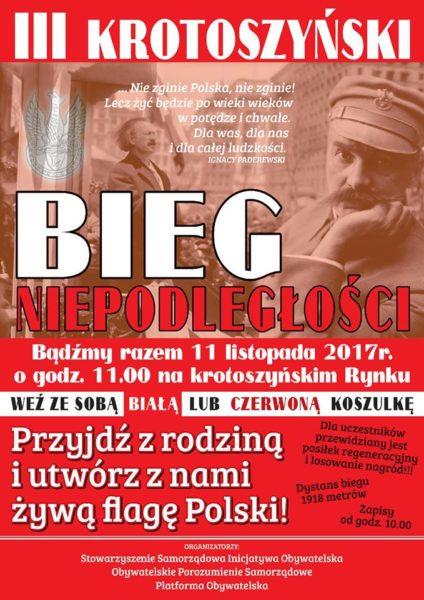 III Krotoszyński Bieg Niepodległości