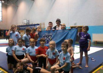 Worek medali młodych zawodników
