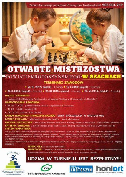 Powalcz o szachowe mistrzostwo powiatu!