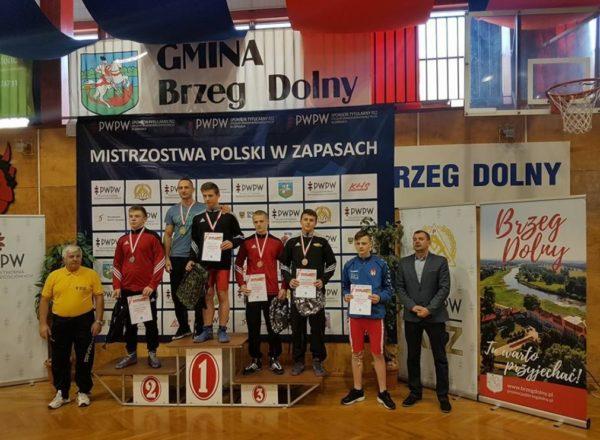 Medale młodzików na mistrzostwach kraju