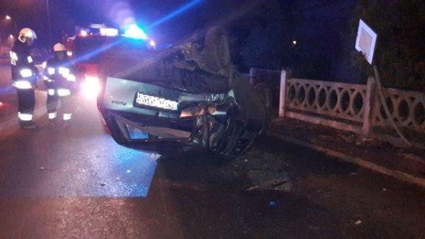 Zderzenie aut w Kobylinie