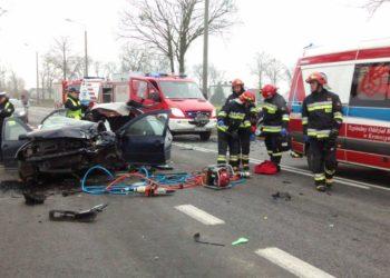 Śmiertelny wypadek w Smoszewie
