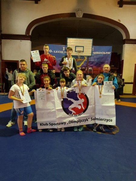 Osiem medali we Wrocławiu