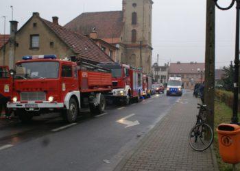 Pożar w domu jednorodzinnym