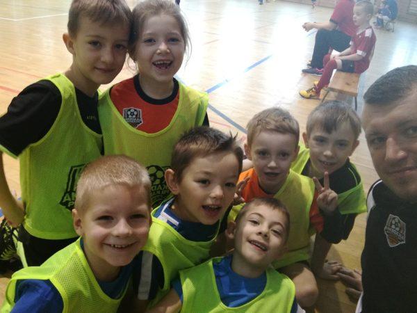 Piłkarski turniej skrzatów