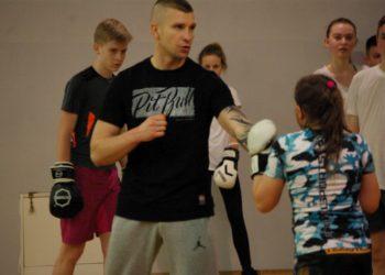 Trening z Tomaszem Dylakiem