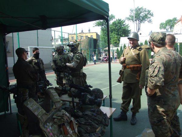 Wojskowa sobota w Czwórce