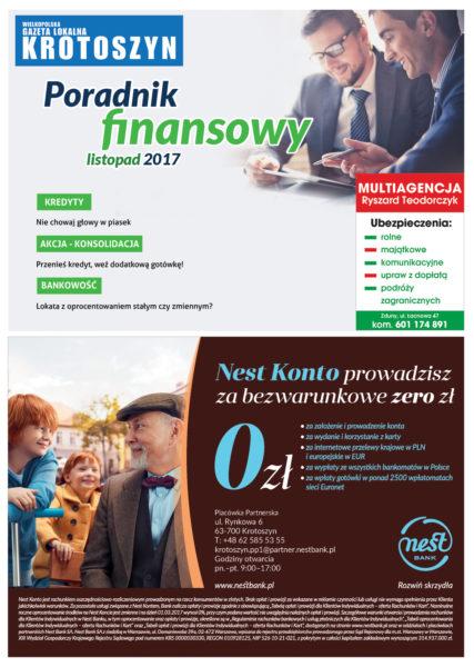 Poradnik finansowy LISTOPAD 2017