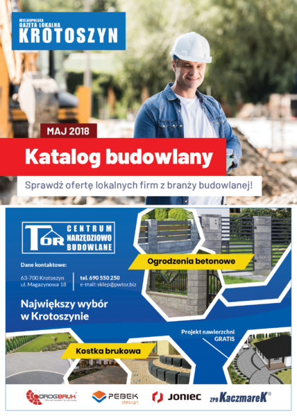Katalog budowlany MAJ 2018