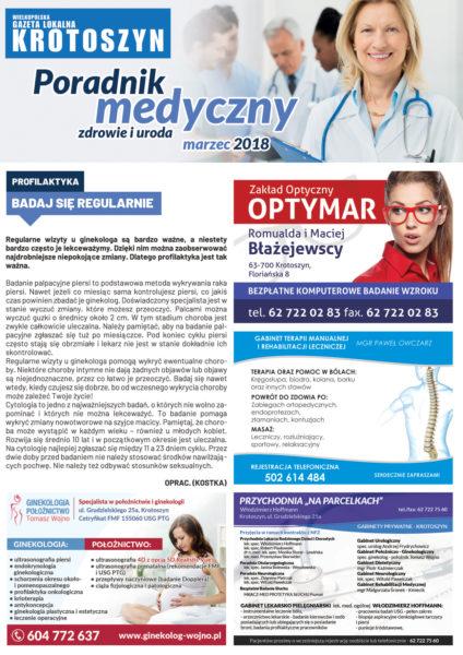 Poradnik medyczny MARZEC 2018