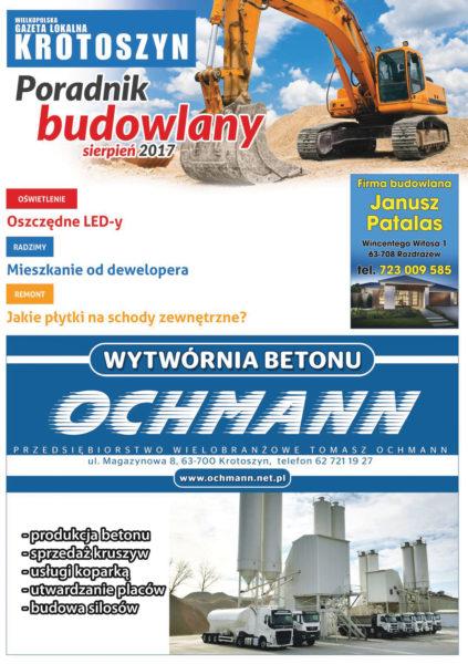Poradnik budowlany SIERPIEŃ 2017