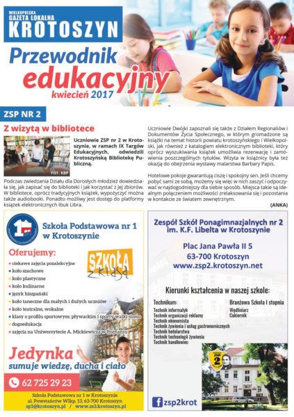 Poradnik edukacyjny KWIECIEŃ 2017