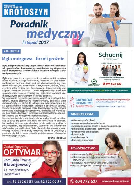Poradnik medyczny LISTOPAD 2017