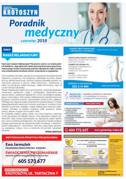 Poradnik medyczny CZERWIEC 2018