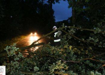 Front burzowy nie ominął naszego powiatu