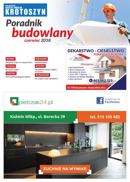 Poradnik budowlany CZERWIEC 2018