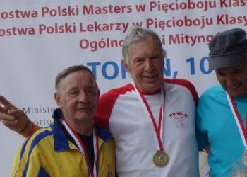 Dwa złote medale Roszczaka