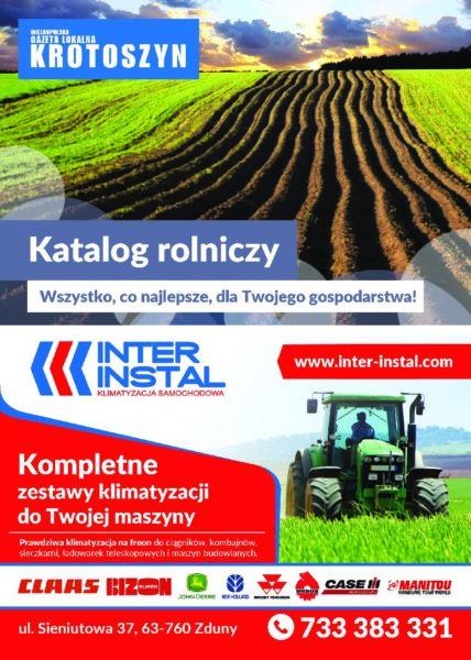 Katalog rolniczy WRZESIEŃ 2017