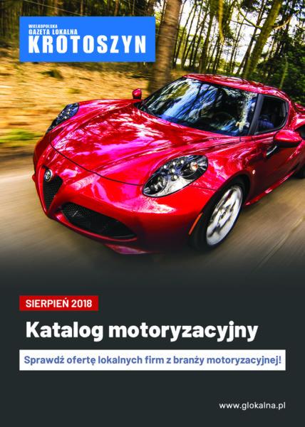 Katalog motoryzacyjny SIERPIEŃ 2018