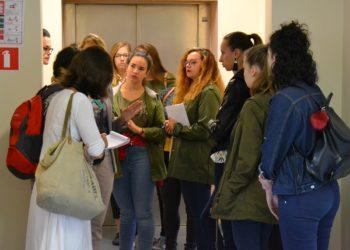 Wizyta młodzieży z Francji