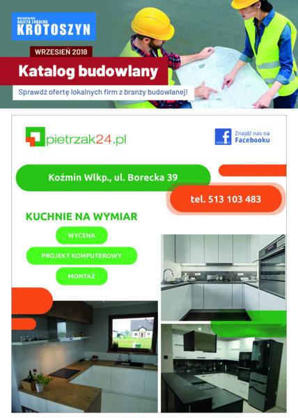 Katalog budowlany WRZESIEŃ 2018