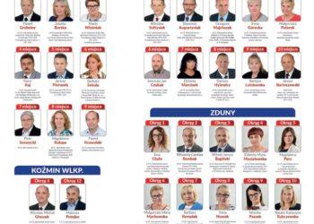Kandydaci OPS-u do rad gmin i rady powiatu