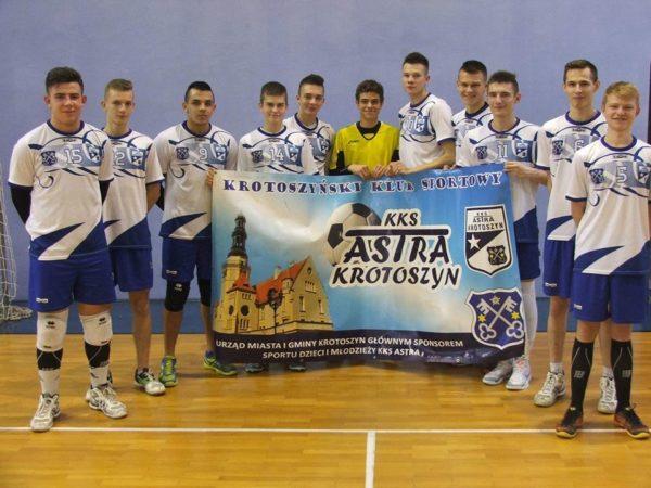 Astra zagra w wojewódzkim finale