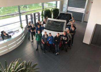 Z wizytą w fabryce samochodów