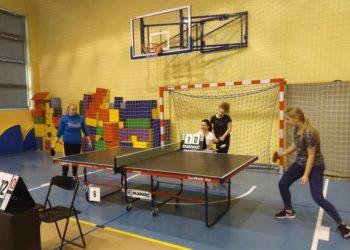Tenisowa rywalizacja sołectw