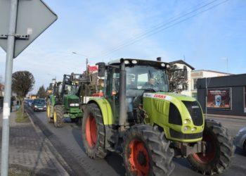 Rolnicy strajkowali