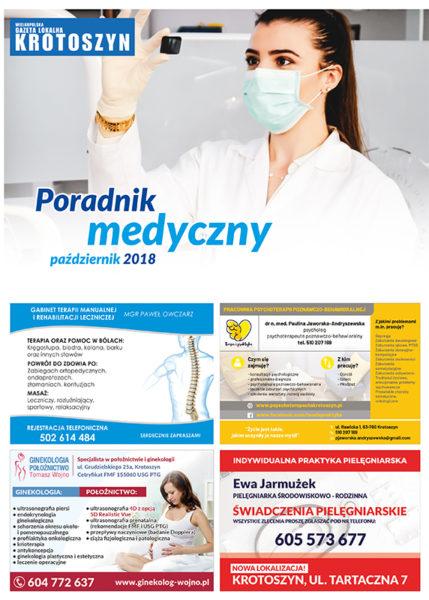 Poradnik medyczny PAŹDZIERNIK 2018