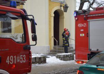 Nastoletni piroman podłożył ogień w kościele