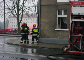 Pożar rozdzielni elektrycznej