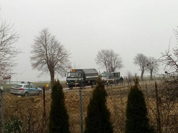 Przy budowie przedszkola znaleziono miny