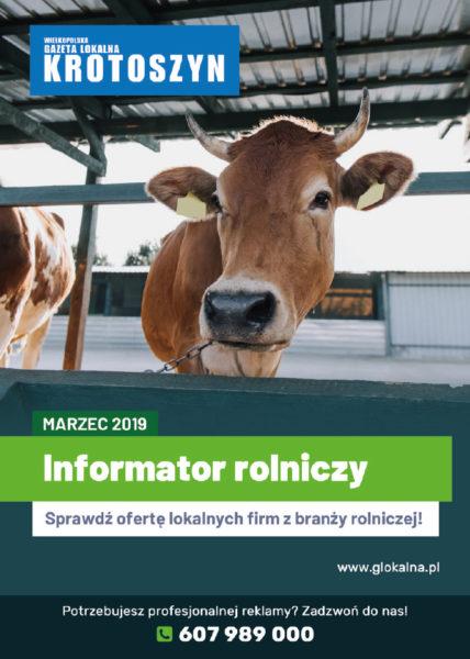 Informator rolniczy MARZEC 2019