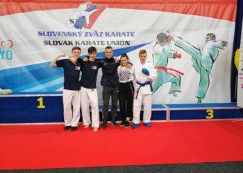 Nasi karatecy w Bratysławie