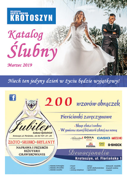 Katalog ślubny MARZEC 2019