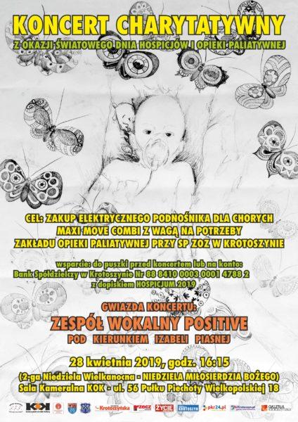 Koncert na rzecz Zakładu Opieki Paliatywnej