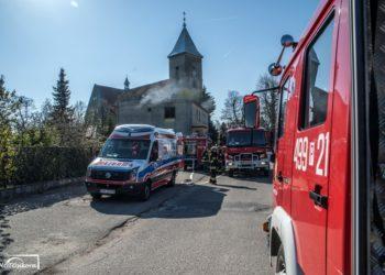 W pożarze zginął emerytowany policjant