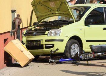 16-latek bez uprawnień spowodował wypadek