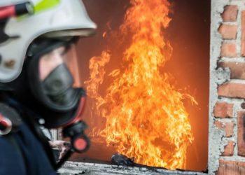 Pożar w kotłowni