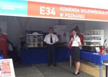 Krotoszyńscy strażacy na pikniku naukowym