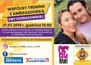Trening z ambasadorką Ewy Chodakowskiej